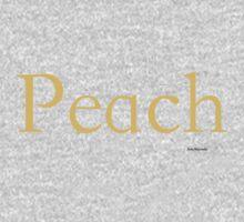Peach Kids Tee