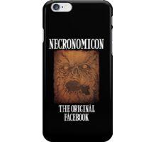 Necronomicon: The Original Facebook iPhone Case/Skin