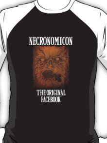 Necronomicon: The Original Facebook T-Shirt