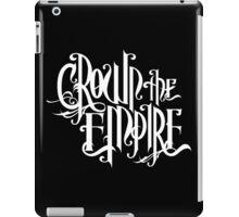 Crown The Empire White iPad Case/Skin