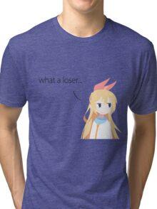 Nisekoi Chitoge loser Tri-blend T-Shirt