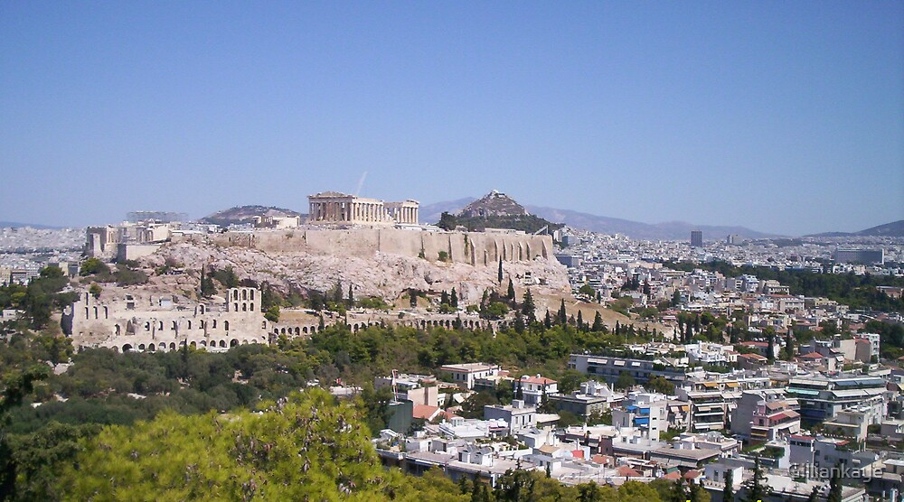Acropolis by Gilliankaye