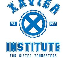 Xavier Institute (Blue) by megaman1980