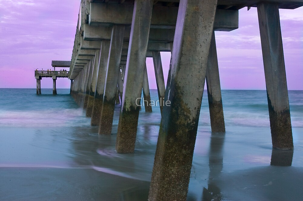 Under the Boardwalk II by Charlie