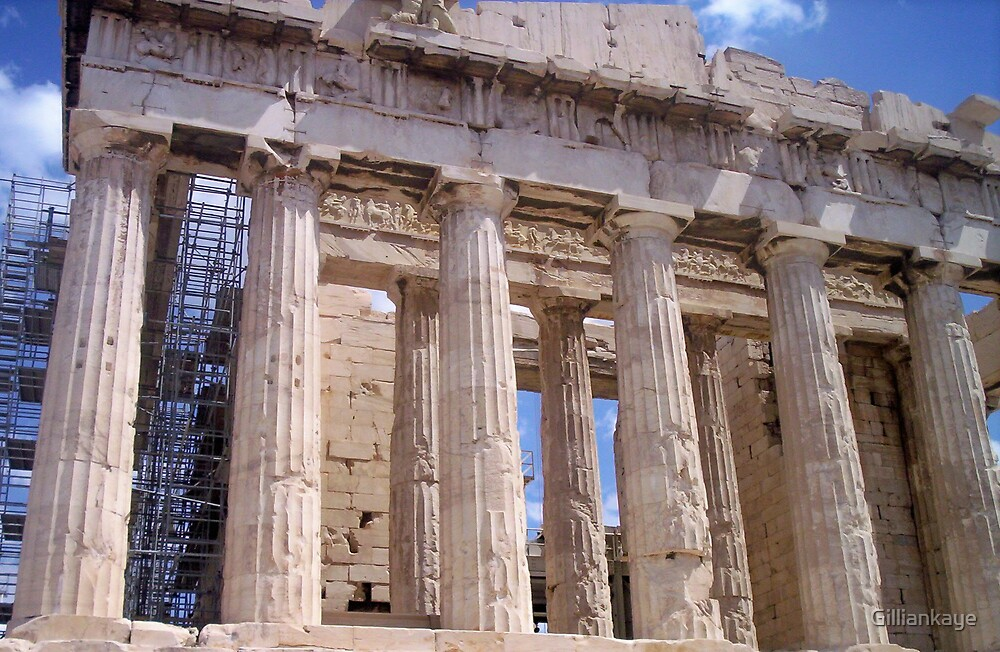 Parthenon by Gilliankaye