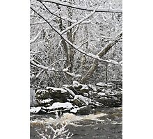 Streaming Winter Photographic Print