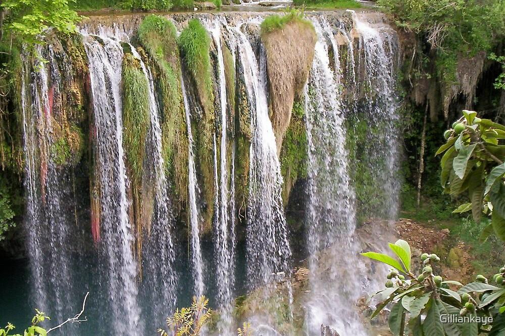 Waterfall in Antalya by Gilliankaye