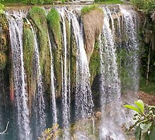 Waterfall in Antalya by Gilliankaye