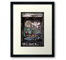 Single Dwelling Framed Print