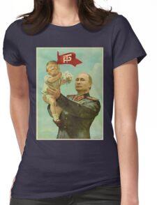 Trump Putin Womens Fitted T-Shirt