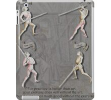 Liechtenauer Guards from Von Danzig Poster iPad Case/Skin