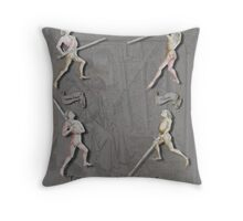 Liechtenauer Guards from Von Danzig Poster Throw Pillow