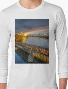 Graffiti bridge. Long Sleeve T-Shirt