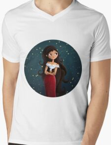 Maria Mens V-Neck T-Shirt