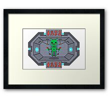 The Human Controller Framed Print