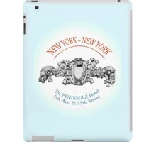 NYC building details 2 iPad Case/Skin