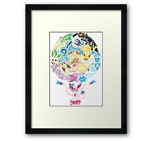 Tribalish Eeveelutions - With Sylveon! Framed Print