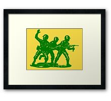 army men Framed Print