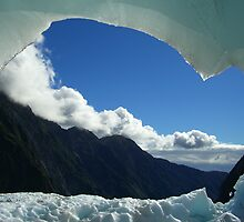 Franz Josef Glacier Cave, New Zealand by plosker