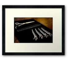 At the Salon Framed Print