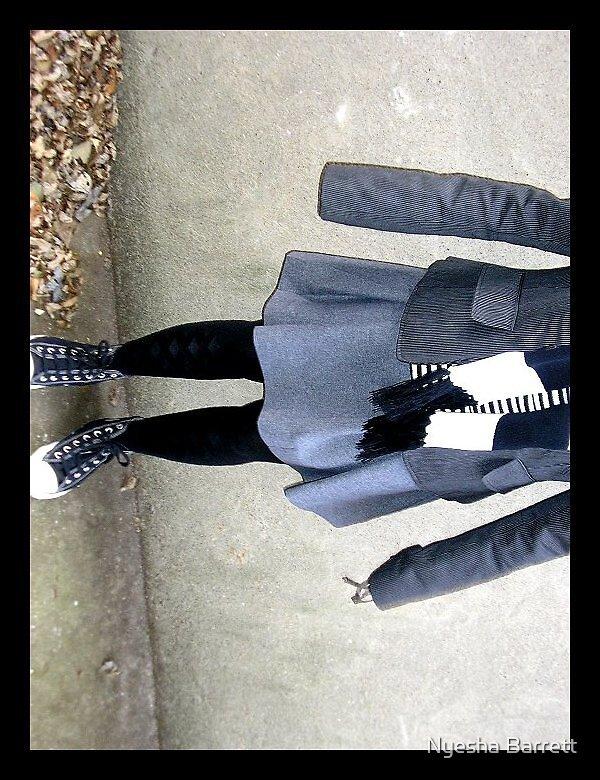 Legs and Leaves by Nyesha Barrett
