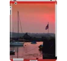 The British Flag at Sunset iPad Case/Skin
