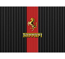 Ferrari Lover [UPDATE ~ Gold] Photographic Print