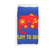 PLAY TO WIN Duvet Cover