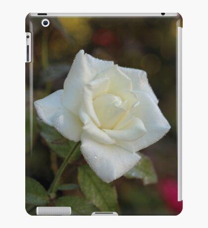 White Rose iPad Case/Skin