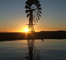 Windmill Sunrise by Karly Morris