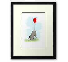 Eeyore and his Tail Framed Print