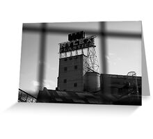 Nylex Silo v.1 Greeting Card
