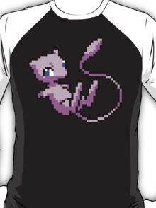 8 bit mew pokemon T-Shirt