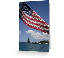 U.S.S. Missouri Greeting Card