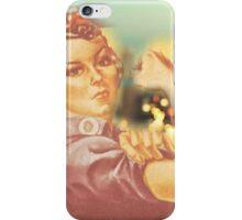 Rosie the Riveter Big City iPhone Case/Skin