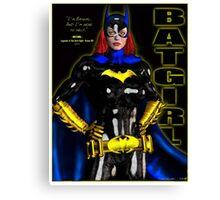 Batgirl - batman Canvas Print