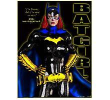 Batgirl - batman Photographic Print
