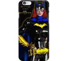 Batgirl - batman iPhone Case/Skin