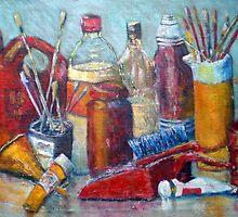 Bottles Brushes plus by David Hinchliffe