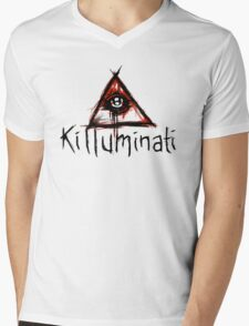 Killuminati Mens V-Neck T-Shirt