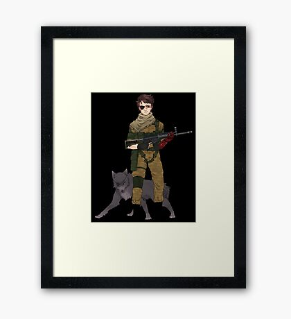 Phantom Limb Framed Print