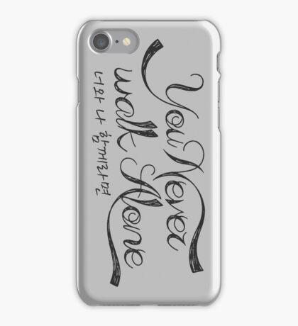 YNWA If you and I can be together - BTS iPhone Case/Skin