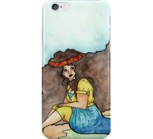 Pippa by the Sea iPhone Case/Skin