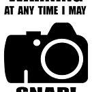Warning I may Snap by rossco