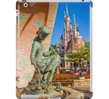 Cinderella Fountain at Disneyland Paris iPad Case/Skin