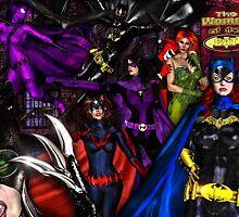 The women of BATMAN by Theboy1der100