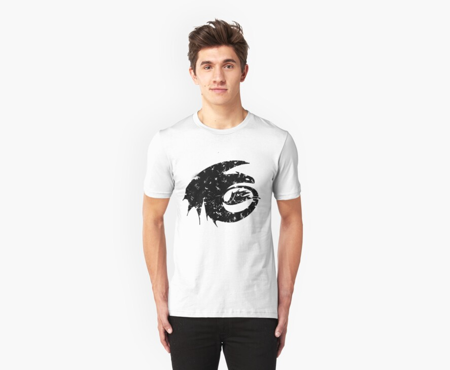 Toothless Silhouette Tee  by thisisbrooke
