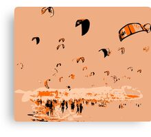 Kite Surfing Tarifa Canvas Print
