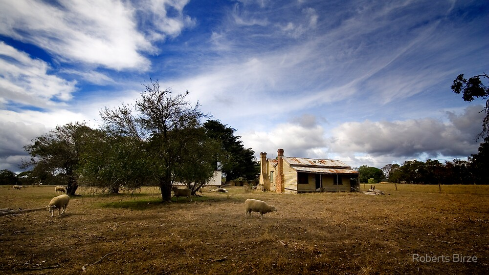 Give me a home among the gum trees ... by Roberts Birze