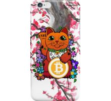 Lucky Bitcoin Cat iPhone Case/Skin